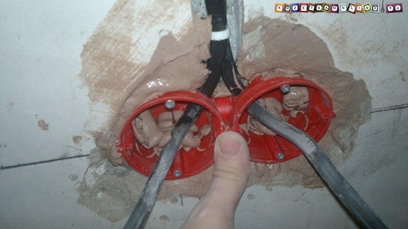 Как в стене сделать подрозетник в