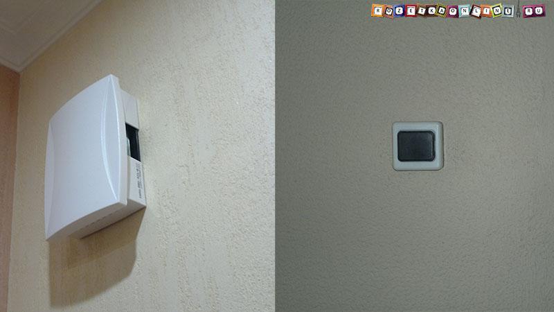 Подключение дверного звонка