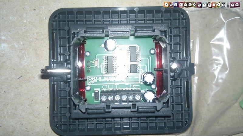 Схема подключения ИК сенсора,