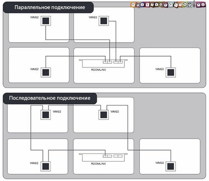 Возможные схемы подключения ИК