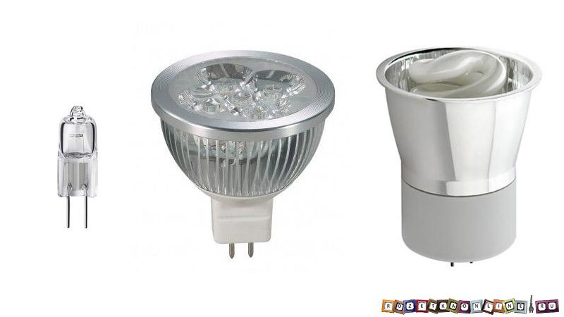 Виды ламп для точечных светильников на RozetkaOnline.ru