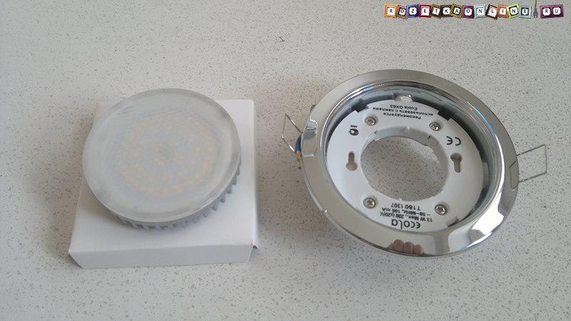 Лампа с цоколем GX53 для светильника Ecola