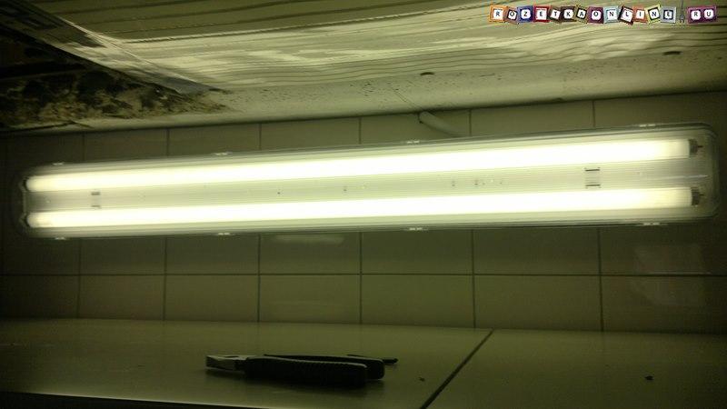 Cветильник накладной люминесцентный 2х36 Вт «Айсберг» со степенью защиты ip65
