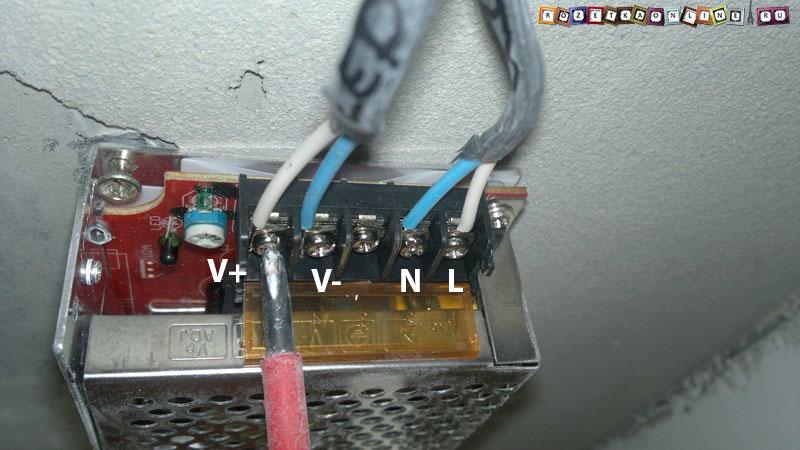 Подключение проводов к трансформатору