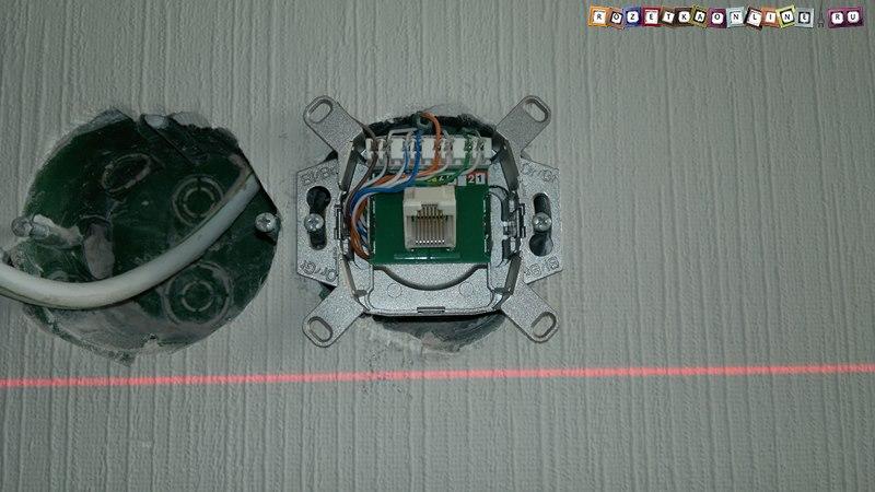 Розетка для компьютерных сетей rj-45 utp cat5e одинарная legrand.