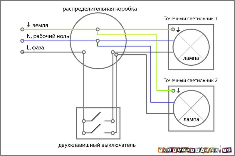 Схема включения пэ-002