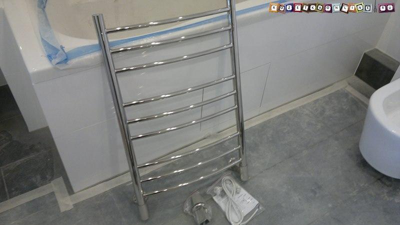 Установка полотенцесушителя своими руками схема фото 988