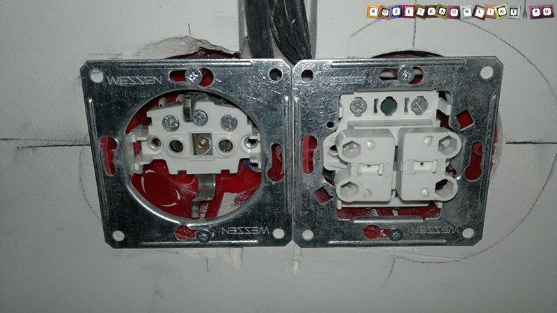 Некачественные розетки и выключатели с новостройках 40b74dc79a3